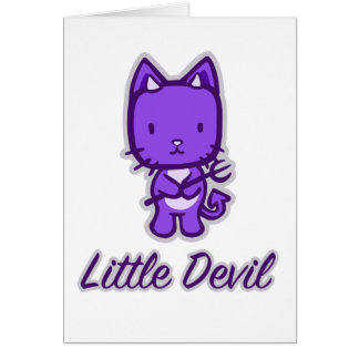 """Little Angel...Little Devil"" Greeting Cards"