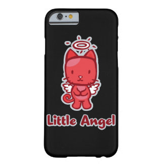 Little Angel...Little Devil Kitty Cat Cartoon Barely There iPhone 6 Case