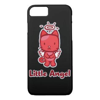 Little Angel...Little Devil Kitty Cat Cartoon iPhone 7 Case