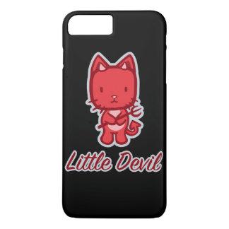 Little Angel...Little Devil Kitty Cat Cartoon iPhone 7 Plus Case