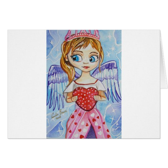 LITTLE ANGEL LOVE CARD