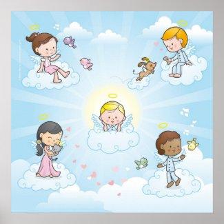 Little Angel print