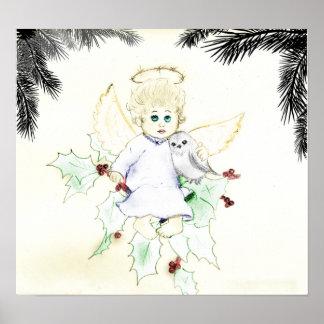 Little Angel poster print