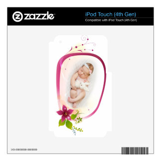 Little Angel Sleeping 041 Decal For iPod Touch 4G