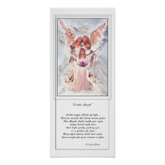 Little Angel w/Poetry Poster