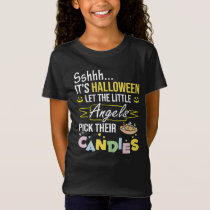 Little angles Candy time: Halloween T-Shirt