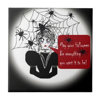 Little Anime Spider Woman Tile