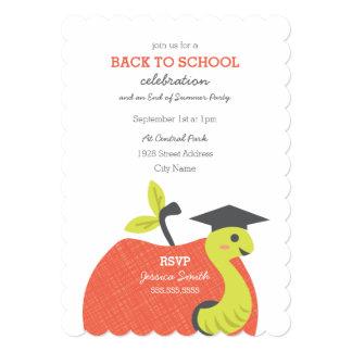 Little Apple Back to School Card