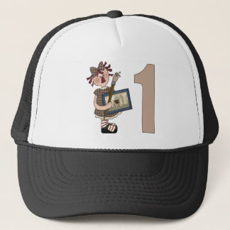 Little Artist 1st Birthday Trucker Hat