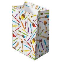 Little Artist pattern Medium Gift Bag