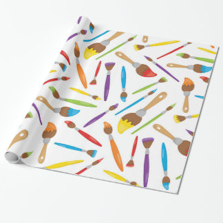 Little Artist pattern Wrapping Paper