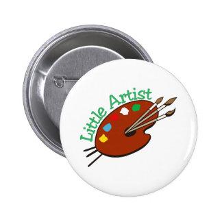 Little Artist Pinback Button