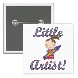 Little Artist T-shirts and Gifts Pinback Button