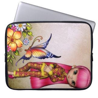 Little Asian Girl 3 Fantasy Laptop Sleeve