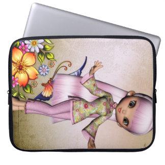 Little Asian Girl 4 Fantasy Laptop Sleeve