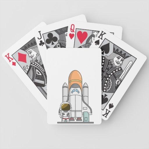 Little Astronaut & Spaceship Deck Of Cards