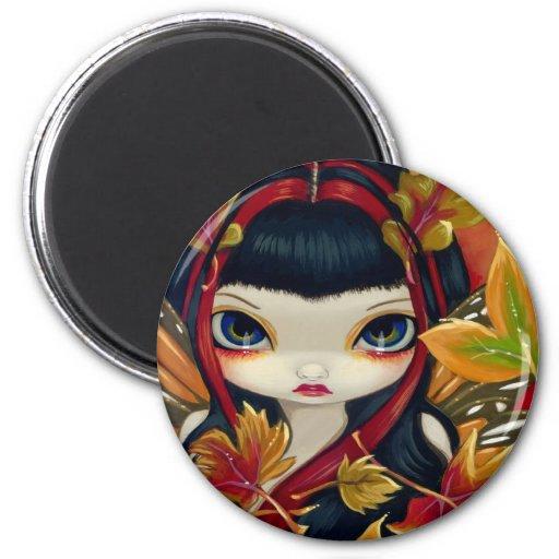 """Little Autumn Leaves"" Magnet"