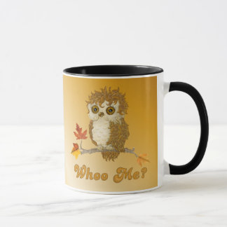 Little Autumn Whoo Owl Mug