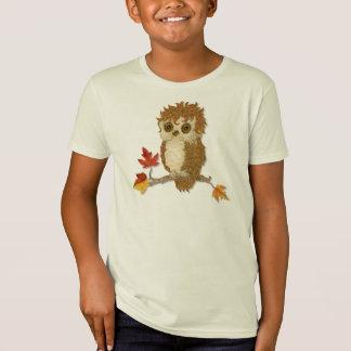 Little Autumn Whoo Owl T-Shirt
