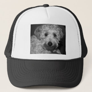Little Awesome Abby the Yorkie Poo 2 Trucker Hat