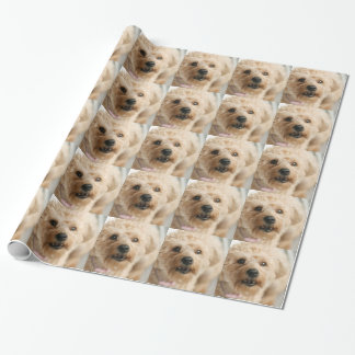 Little Awesome Abby the Yorkie Poo Wrapping Paper