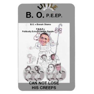 Little B.O. P.E.E.P. Rectangular Magnets