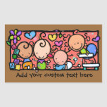 Little Babies at play Custom promo sticker