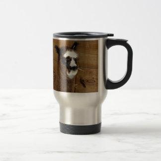 Little Baby Alpaca - Vicugna pacos Travel Mug