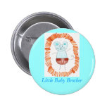 Little Baby Brother Pinback Buttons