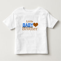Little Baby Brother Toddler Fine Jersey T-Shirt
