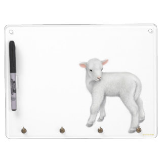 Little Baby Lamb Dry Erase Board
