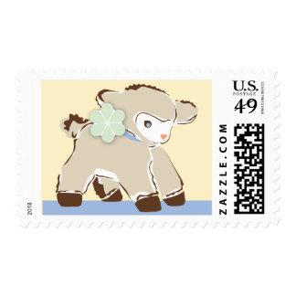 Little Baby Lamb Stamp