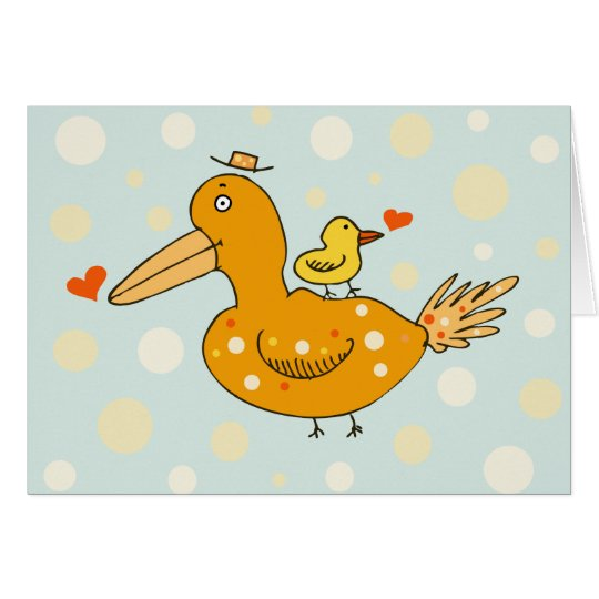 Little Baby Love Bird Card