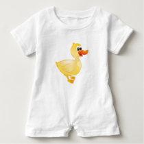 'Little Baby Love Seal' Duck Character Romper