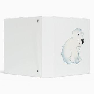 'Little Baby Love Seal' Polar Bear Binder