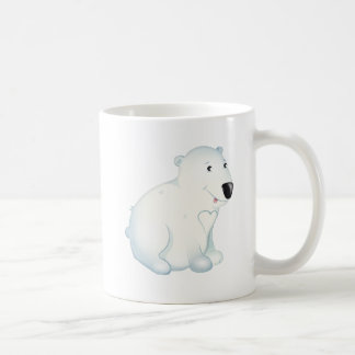 'Little Baby Love Seal' Polar Bear Character Mug