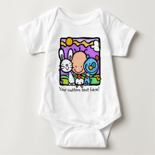 LITTLE BABY loves ANIMALS apparel T Shirts