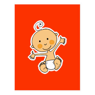 Little baby postcard