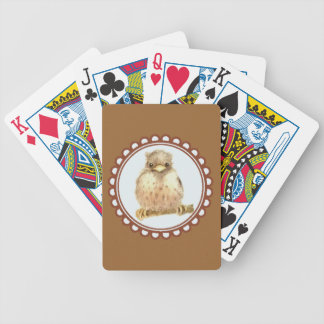 Little Baby Robin Bicycle Playing Cards