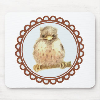 Little Baby robin Mouse Pad