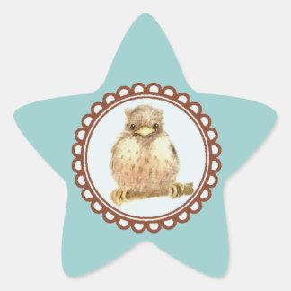 Little Baby Robin Star Sticker