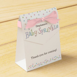 Little Baby Sprinkle Confetti Shower Favor Bag Favor Box