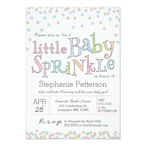 Baby Sprinkle Invitation Wording as awesome invitations ideas