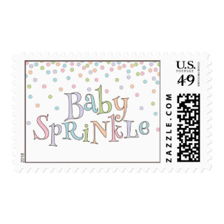 Little Baby Sprinkle Confetti Shower Postage
