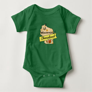 Little Baby Wisconsin Cheesehead Shirt