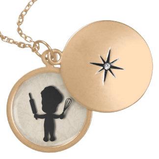 Little Baker / Chef Necklace
