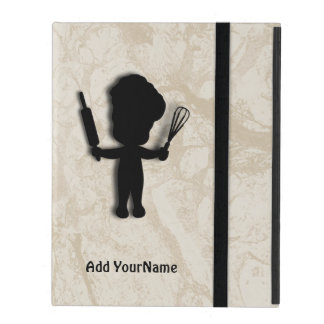 Little Baker / Chef Personalized iPad Case
