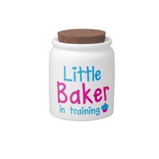 Little BAKER in training Candy Jar