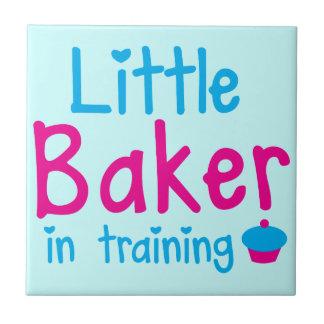 Little BAKER in training Ceramic Tile