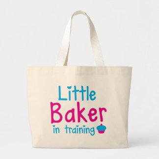 Little BAKER in training Large Tote Bag